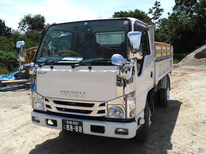 ダンプトラック 3t